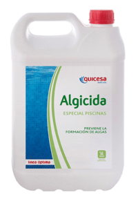 Special algaecide for swimming pools