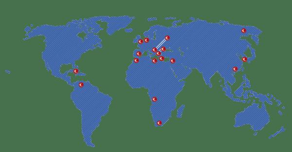 Presencia Geográfica QUICESA