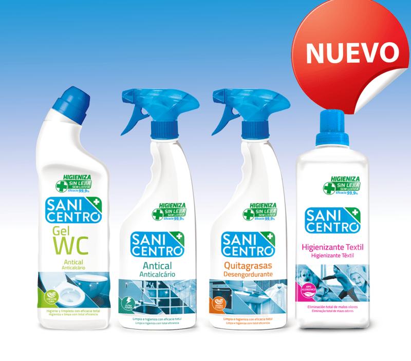 Nuevos lanzamientos Higienizantes Sanicentro