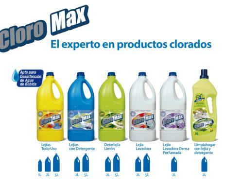 Gama CloroMax: ayuda a prevenir la propagación del Covid19