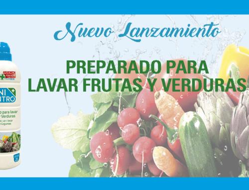Nuevo Lanzamiento: Preparado para lavar Frutas y Verduras