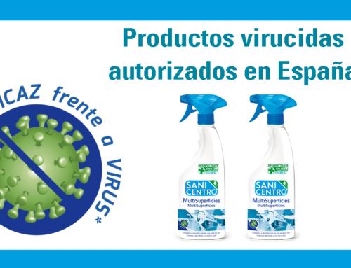 Productos virucidas autorizados en España