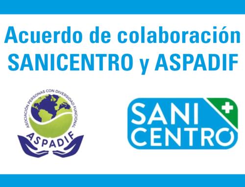 Colaboración ASPADIF y Sanicentro