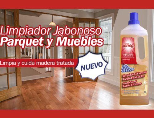 ¡NUEVO! Tenso Pro Limpiador Jabonoso Parquet  y Muebles