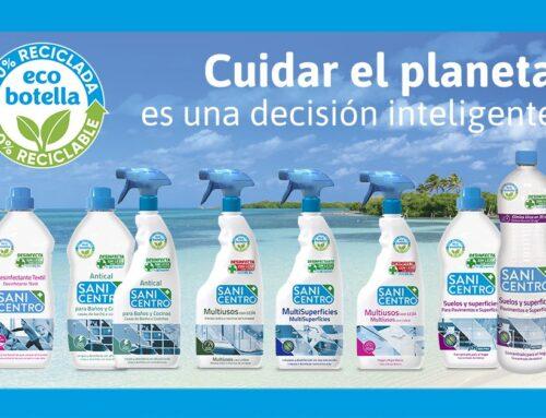 Ecobotellas Sanicentro: 100% Recicladas y 100% Reciclables